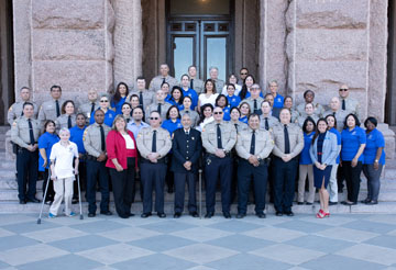 Constable Carlos Lopez and his staff assist the citizens and courts of Travis County